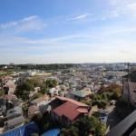 セザール藤沢本町 バルコニーからの眺望