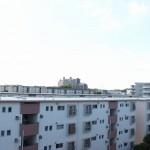 新桜ヶ丘団地6-655 バルコニーからの眺望