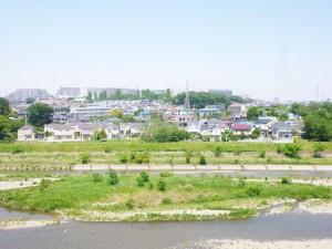 ネオコーポ八王子 近隣の川の写真