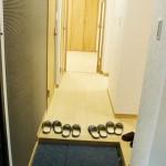 柏陽団地1号棟403号室 玄関(玄関)