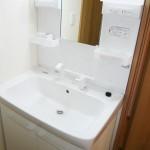 すすき野第二団地4街区6号棟503号室洗面化粧台の画像