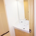 ニューライフ金沢文庫D棟504号室 洗面化粧台(内装)
