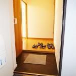 ルックハイツ読売ランドB棟102号室 玄関(玄関)