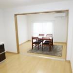 ドルミ中山C棟103号室ダイニングキッチン