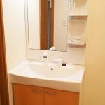 湘南長沢グリーンハイツ5-4棟403号室 洗面化粧台(内装)