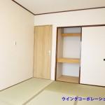 大型の押入れ(寝室)