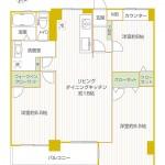 野庭団地634-5棟523号室間取り図
