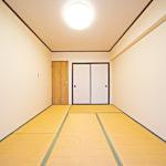 和室が一部屋あると、来客時などにも重宝します(寝室)