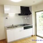 竹山団地4322号棟2241号室キッチン