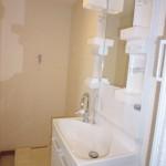 竹山団地4322号棟2241号室洗面化粧台