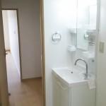 藤沢立石ハイツA棟402号室洗面化粧台