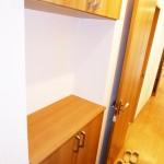 上下タイプの玄関収納新設(玄関)