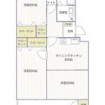 前田ハイツ14号棟1454号室