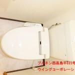 ブルネン西高島平805号室トイレ