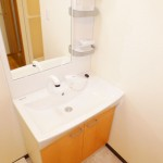 ブルネン西高島平805号室洗面化粧台