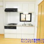 ダイアパレス菅田第二309号室キッチン