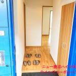 大型の玄関収納新設(玄関)