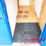 フロアタイル貼り替え(玄関)