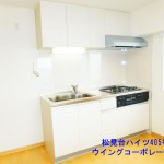 松見台ハイツ405号室キッチン