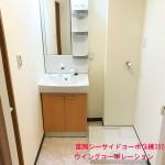 富岡シーサイドコーポG棟302号室洗面室