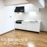 ココス八重咲902号室キッチン2