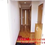 つきみ野スカイハイツ602号室玄関