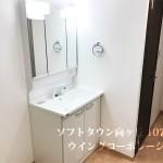 ソフトタウン向ヶ丘-107号室洗面所