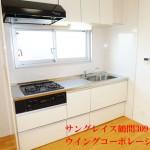 サングレイス鶴間309号室キッチン