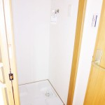 洗濯機置き場新設、防水パン交換(内装)