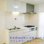 厚木岡田団地6号棟301号室キッチン