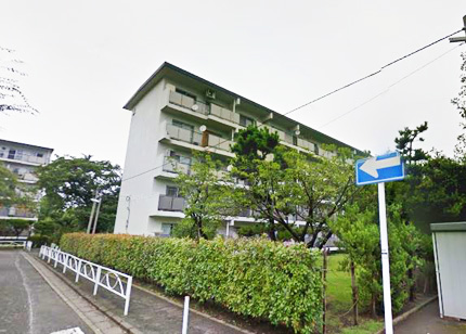 平塚高村団地30号棟外観