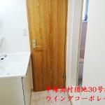 平塚高村団地30号棟404号室洗面室
