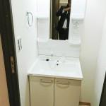 第2磯子ハイツ518号室洗面化粧台