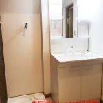 生田マンション112号室洗面化粧台