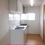 南長津田団地1号棟143号室キッチン