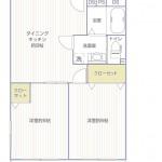 藤沢マンション202号室間取り図