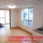 ニチモ日吉第3コーポラス205号室LDK