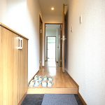 玄関フロアタイル貼り替え(玄関)
