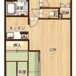 鶴見ダイカンプラザ704号室 間取