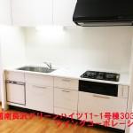 湘南長沢グリーンハイツ11-1号棟303号室キッチン