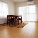 メゾン桜が岡10-1号棟401号室リビング