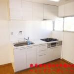 南長津田団地4号棟442号室キッチン