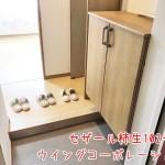 玄関収納設置(玄関)