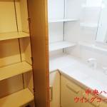 中央ハイツ210号室洗面室