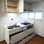 湘南西部住宅2-29号棟2945号室キッチン
