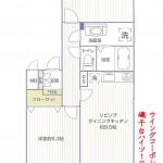 磯子台ハイツ101号室間取図