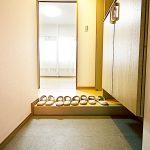 玄関フロアタイル張替え(玄関)