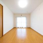 3つの洋室が南側にあるので、どのお部屋も採光はばっちり(寝室)