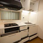 玉川学園マンションA棟518号室キッチン