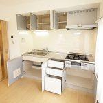 磯子台ハイツ101号室システムキッチン